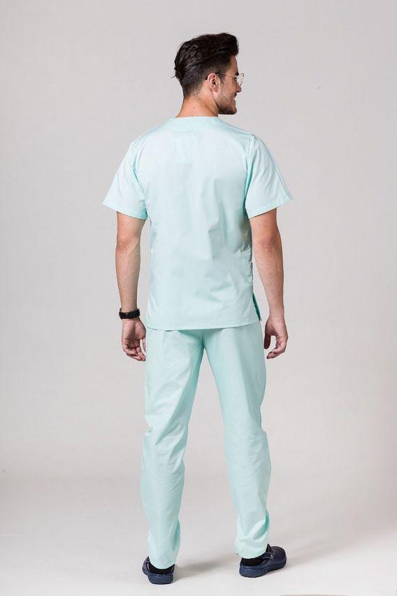 komplety-medyczne-meskie Komplet medyczny męski Sunrise Uniforms miętowy (z bluzą uniwersalną)