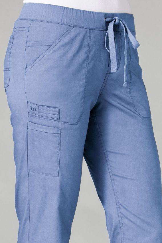 spodnie-medyczne-damskie Spodnie medyczne damskie Maevn PrimaFlex klasyczny błękit
