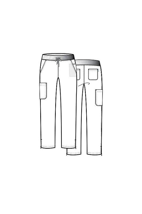 spodnie-medyczne-damskie Spodnie damskie Maevn Pure Modern Yoga różowe