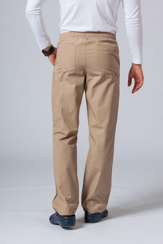 spodnie-medyczne-meskie Spodnie męskie Maevn Red Panda Cargo (6 kieszeni) beżowe