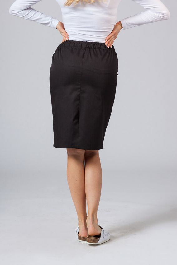 spodnice Spódnica medyczna długa Sunrise Uniforms czarna