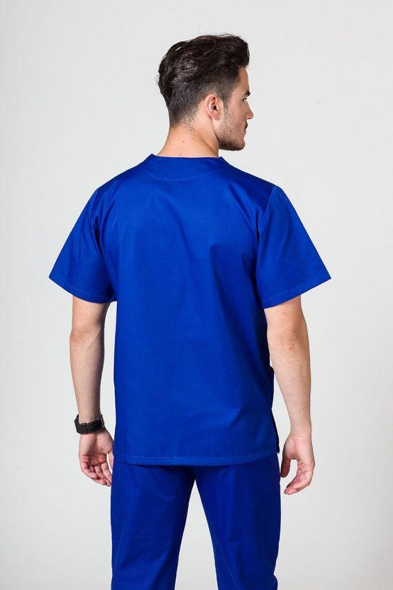 bluzy-medyczne-meskie Bluza medyczna uniwersalna Sunrise Uniforms granatowa
