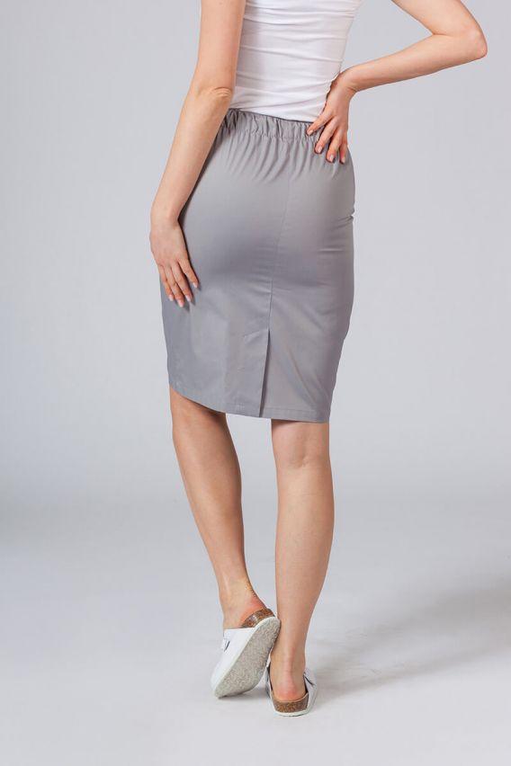 spodnice Spódnica medyczna długa Sunrise Uniforms szara
