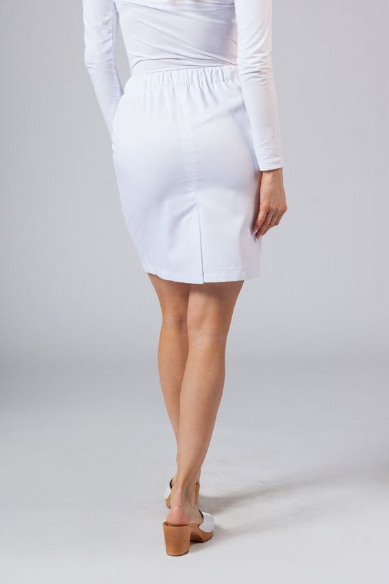 spodnice Spódnica medyczna krótka Sunrise Uniforms biała