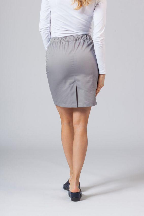 spodnice Spódnica medyczna krótka Sunrise Uniforms szara