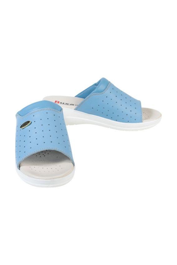 obuwie-medyczne-damskie Obuwie medyczne Buxa model Professional MED30 niebieskie
