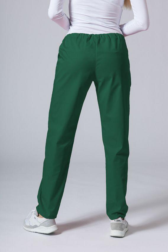 spodnie-medyczne-damskie Spodnie medyczne uniwersalne Sunrise Uniforms butelkowa zieleń