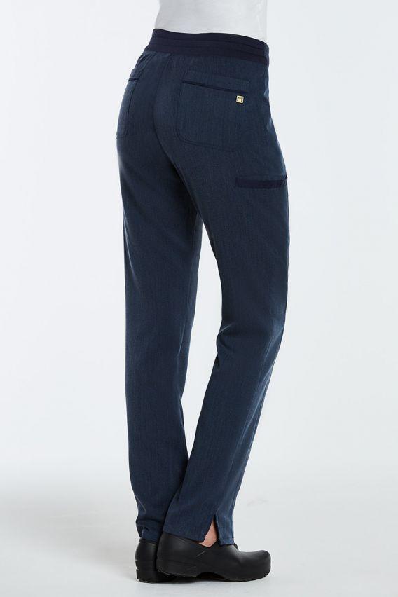 spodnie-medyczne-damskie Spodnie damskie Maevn Matrix Pro granat denim