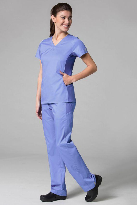 spodnie-medyczne-damskie Spodnie damskie Maevn EON Sporty Mesh klasyczny błękit