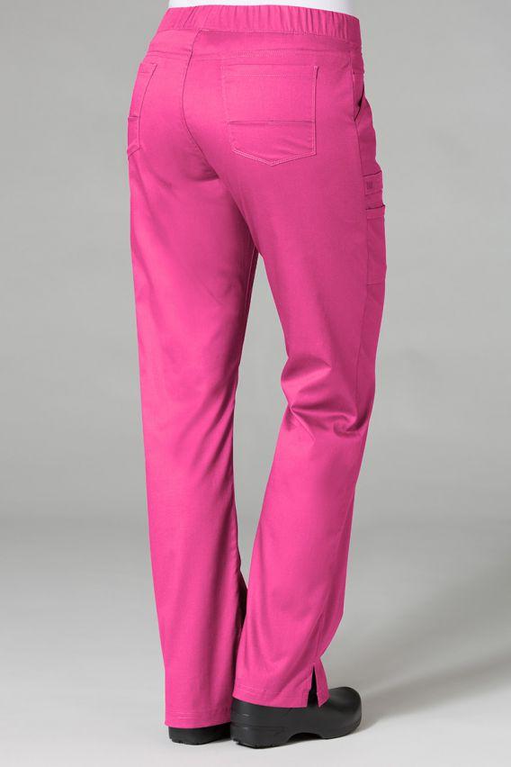 spodnie-medyczne-damskie Spodnie medyczne damskie Maevn PrimaFlex różowe