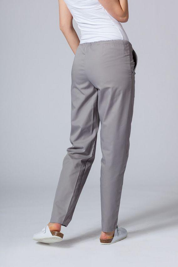 spodnie-medyczne-damskie Spodnie medyczne uniwersalne Sunrise Uniforms szare