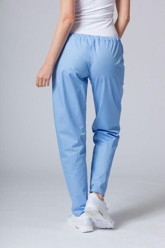 spodnie-medyczne-damskie Spodnie medyczne uniwersalne Sunrise Uniforms niebieskie