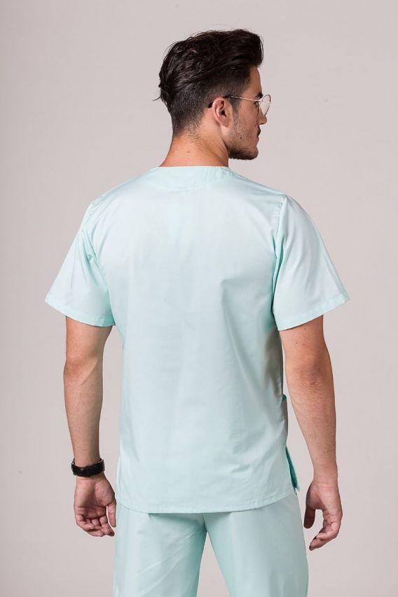 bluzy-medyczne-meskie Bluza medyczna uniwersalna Sunrise Uniforms miętowa