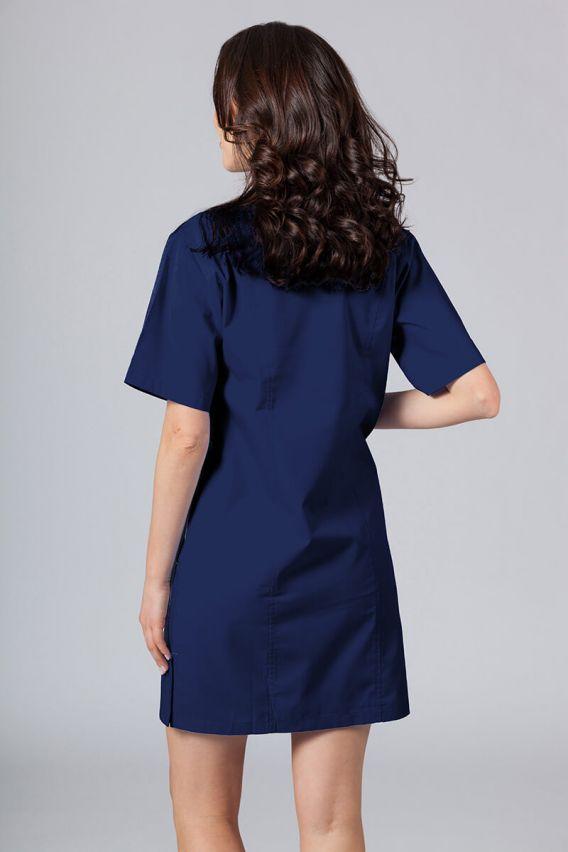 sukienki Sukienka medyczna damska klasyczna Sunrise Uniforms ciemny granat