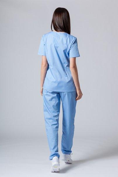 komplety-medyczne-damskie Komplet medyczny Sunrise Uniforms niebieski (z bluzą taliowaną)