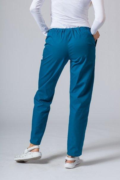 spodnie-medyczne-damskie Spodnie medyczne uniwersalne Sunrise Uniforms karaibski błękit