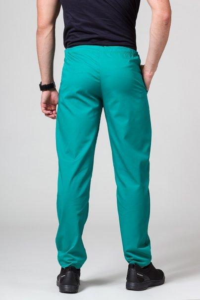 spodnie-medyczne-meskie Spodnie medyczne uniwersalne Sunrise Uniforms zielone