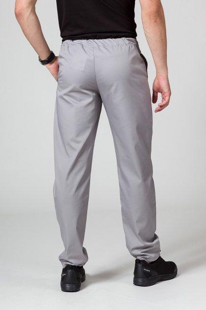 spodnie-medyczne-meskie Spodnie medyczne uniwersalne Sunrise Uniforms szare