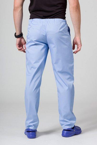 spodnie-medyczne-meskie Spodnie medyczne uniwersalne Sunrise Uniforms niebieskie