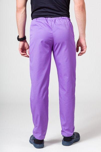 spodnie-medyczne-meskie Spodnie medyczne uniwersalne Sunrise Uniforms fioletowe