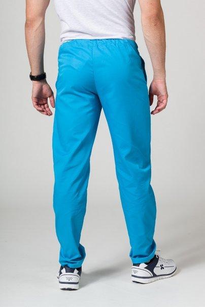 spodnie-medyczne-meskie Spodnie medyczne uniwersalne Sunrise Uniforms turkusowe