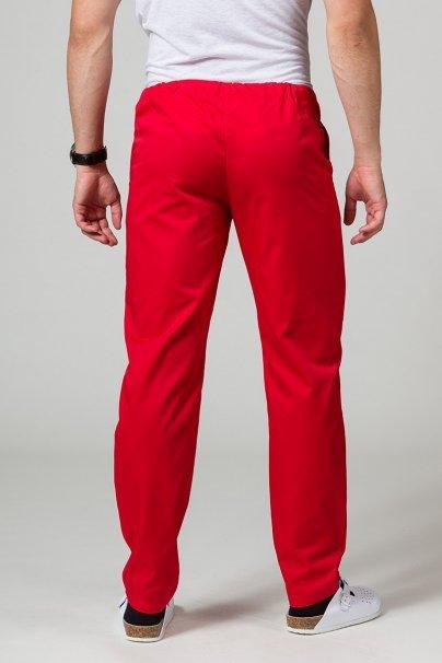spodnie-medyczne-meskie Spodnie medyczne uniwersalne Sunrise Uniforms czerwone