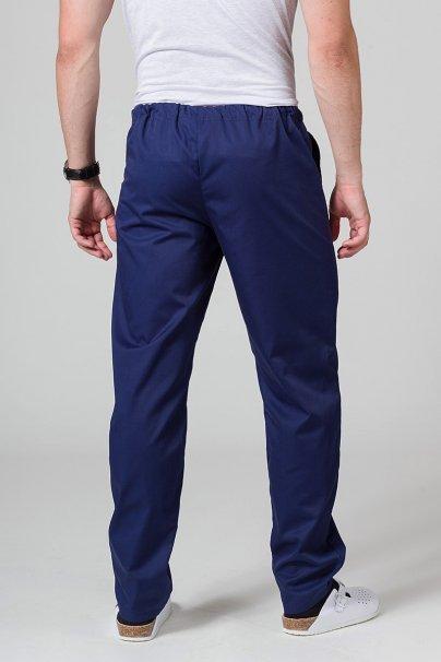 spodnie-medyczne-meskie Spodnie medyczne uniwersalne Sunrise Uniforms ciemny granat