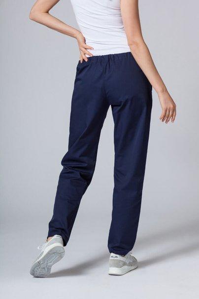 spodnie-medyczne-damskie Spodnie medyczne uniwersalne Sunrise Uniforms ciemny granat