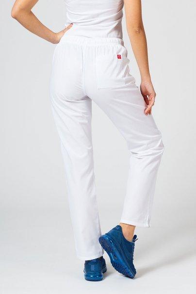 spodnie-medyczne-damskie Spodnie damskie Maevn Red Panda białe