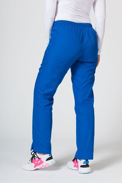 spodnie-medyczne-damskie Spodnie damskie Maevn Red Panda królewski granat