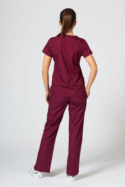 komplety-medyczne-damskie Komplet medyczny Maevn Red Panda wiśniowy