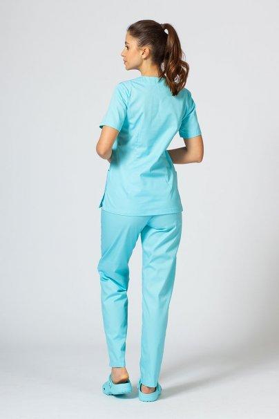 komplety-medyczne-damskie Komplet medyczny Sunrise Uniforms aqua (z bluzą taliowaną)