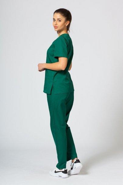 komplety-medyczne-damskie Komplet medyczny Sunrise Uniforms butelkowa zieleń (z bluzą taliowaną)