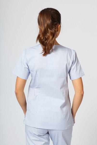 bluzy-medyczne-damskie Bluza medyczna damska Sunrise Uniforms popielata taliowana