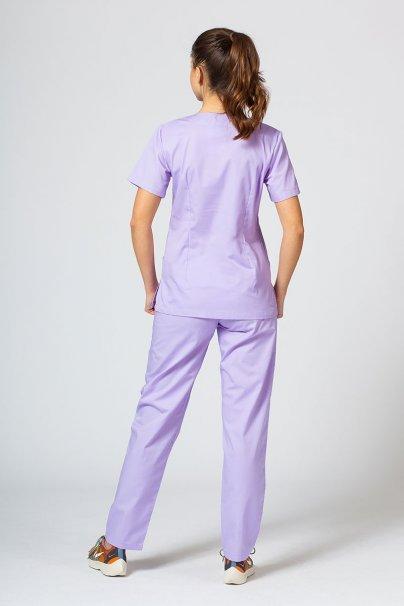 komplety-medyczne-damskie Komplet medyczny Sunrise Uniforms lawendowy (z bluzą taliowaną)