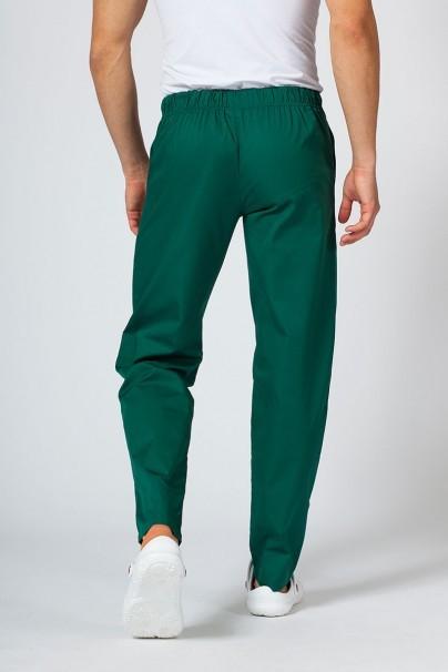 spodnie-medyczne-meskie Spodnie medyczne uniwersalne Sunrise Uniforms butelkowa zieleń