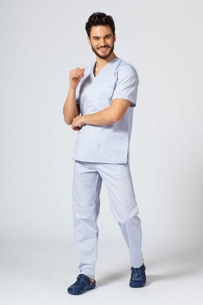 bluzy-medyczne-meskie Bluza medyczna uniwersalna Sunrise Uniforms popielata