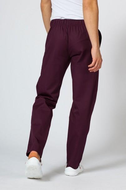 spodnie-medyczne-meskie Spodnie medyczne uniwersalne Sunrise Uniforms burgundowe