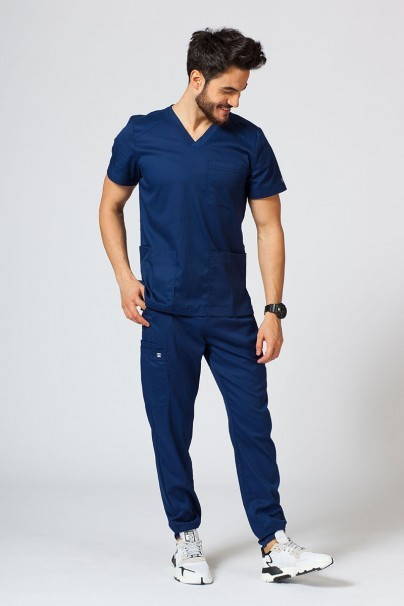 spodnie-medyczne-meskie Spodnie męskie Maevn Matrix Men jogger ciemny granat