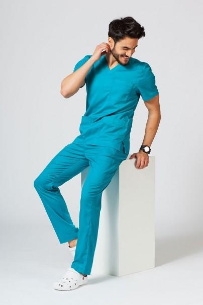 spodnie-medyczne-meskie Spodnie męskie Maevn Matrix Men Classic morski błękit