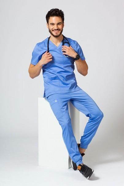 spodnie-medyczne-meskie Spodnie męskie Maevn Matrix Men jogger klasyczny błękit