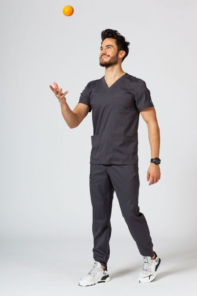 bluzy-medyczne-meskie Bluza męska Maevn Matrix Men szara