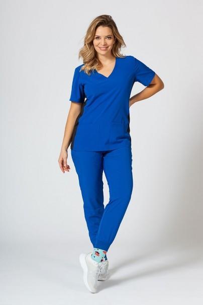bluzy-medyczne-damskie Bluza damska Maevn Matrix Impulse Asymetric królewska