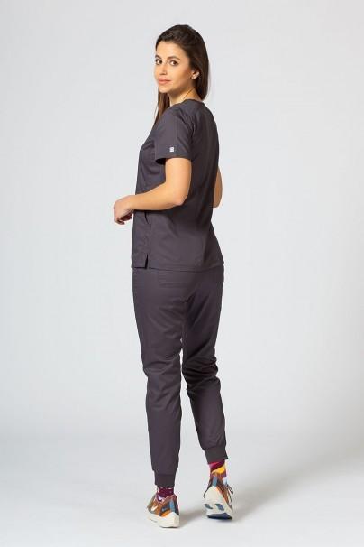 bluzy-medyczne-damskie Bluza damska Maevn EON Sporty & Comfy szara