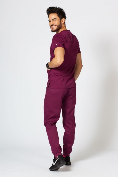 komplety-medyczne-meskie Komplet medyczny męski Maevn Matrix Men Jogger wiśniowy