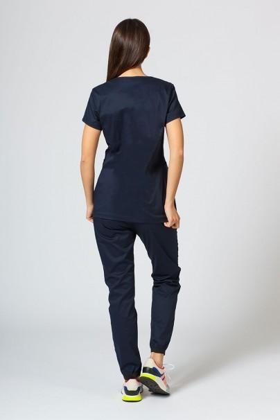 komplety-medyczne-damskie Komplet medyczny Sunrise Uniforms Active ciemny granat (z bluzą Kangaroo - elastic)