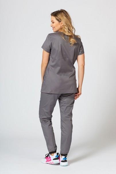 komplety-medyczne-damskie Komplet medyczny Sunrise Uniforms Active szary (z bluzą Kangaroo - elastic)