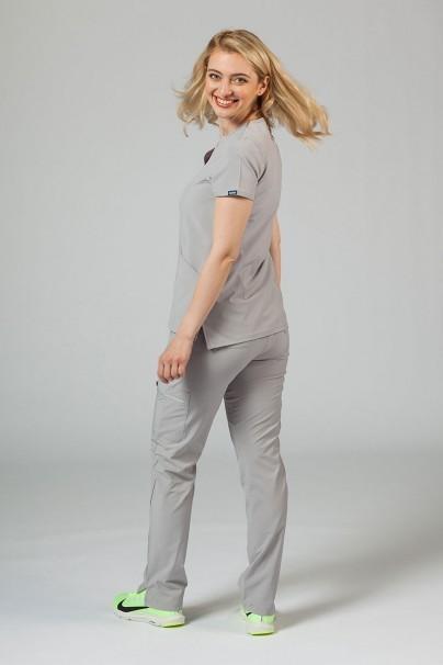 komplety-medyczne-damskie Komplet medyczny Adar Uniforms Cargo popielaty (z bluzą Notched - elastic)