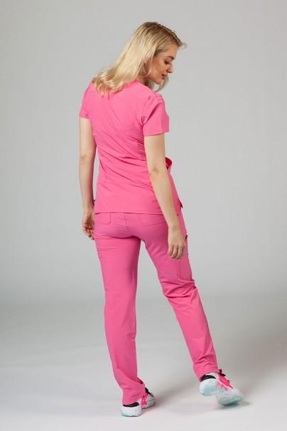 komplety-medyczne-damskie Komplet medyczny Adar Uniforms Cargo różowy (z bluzą Notched - elastic)