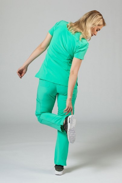 komplety-medyczne-damskie Komplet medyczny Adar Uniforms Cargo jasnozielona (z bluzą Notched - elastic)